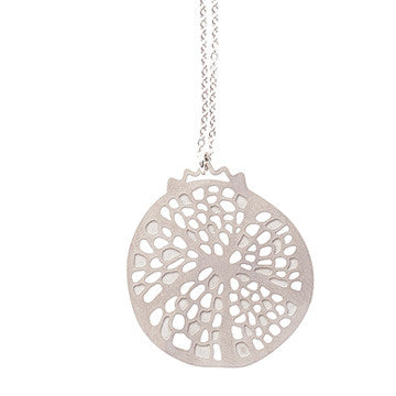 stainless steel pomegranate pendant