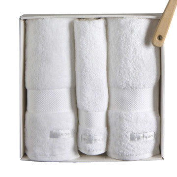 sheridan towel set - snow