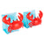 sunnylife inflatable armband crabby