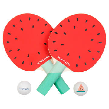 sunnylife watermelon ping pong