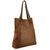 Tan Milled Veg Tan Shoulder Bag