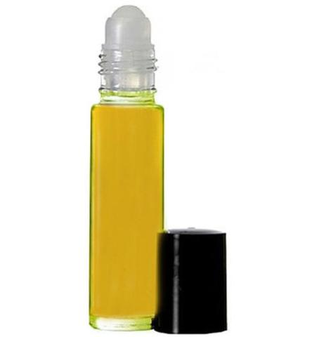 Amber White Unisex Perfume Body Oil 1/3 oz. roll-on (1)