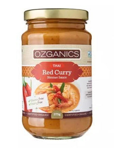 Ozganics Organic Thai Red Curry Sauce