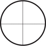 Crosshair reticle for riflescope