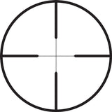 Duplex riflescope reticle