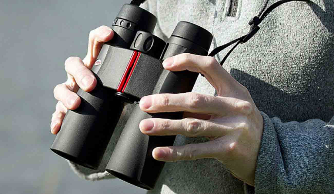 Kowa binoculars in use