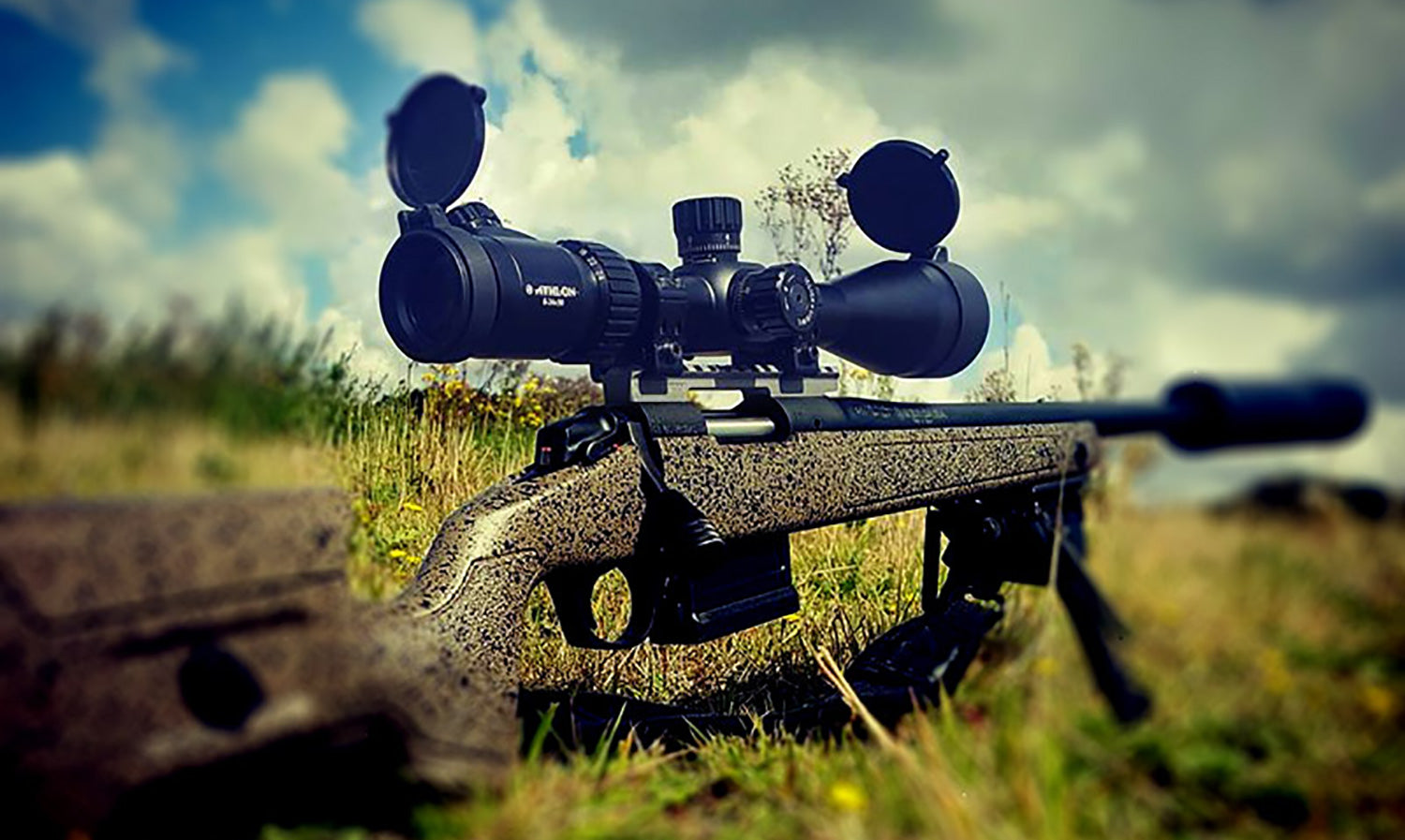 Long range target shooting scope