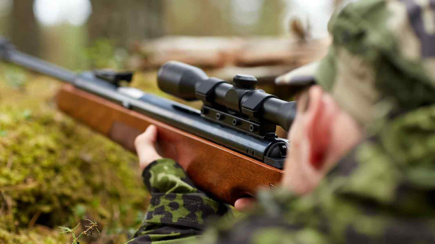 How to choose and target a rifle scope for a carbine 76