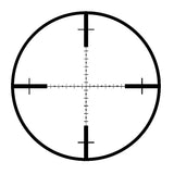 Mil-dot reticle riflescope