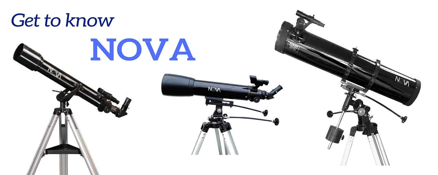 Nova telescope information