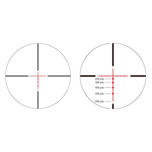 Athlon Talos 3-12x40 SFP Riflescope BDC 600 IR Reticle