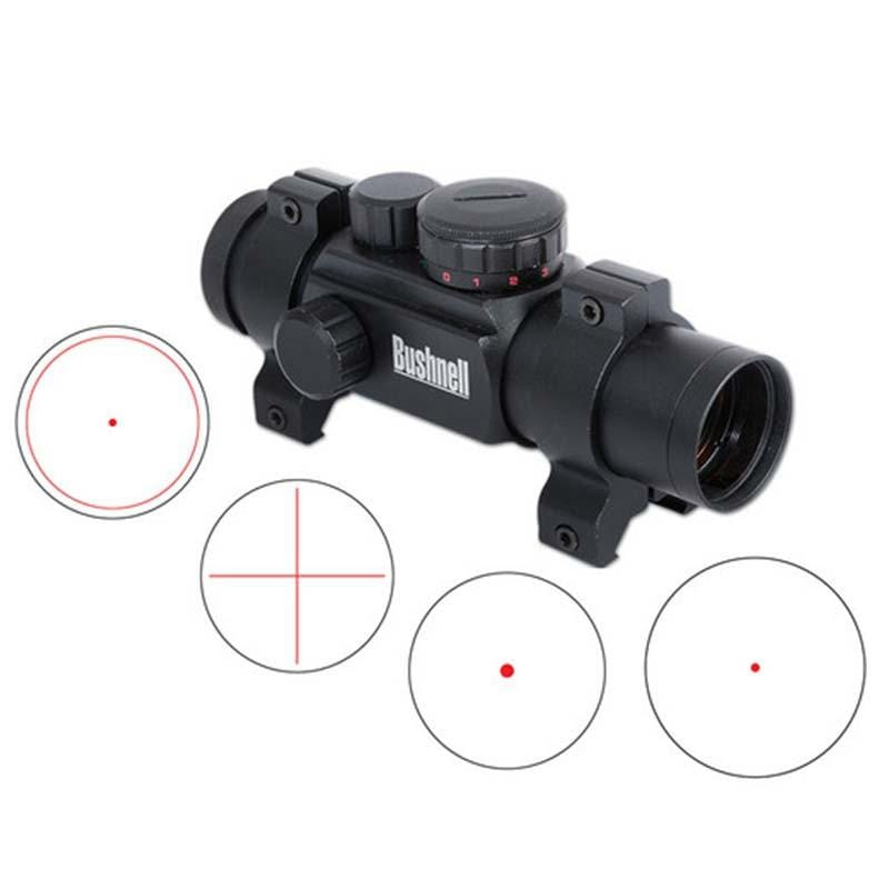 Bushnell AR Optics 1x28 Rifle Scope with Multiple Red/Green Reticle Options
