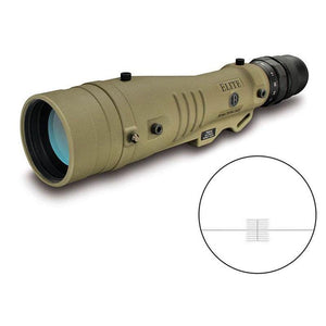 Bushnell Elite Tactical LMSS 8-40x60 Spotting Scope (Straight Viewing, Horus H-32 Reticle)