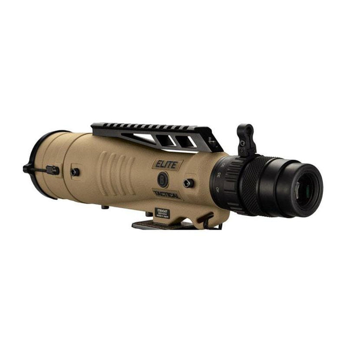 Bushnell Elite Tactical LMSS II 8-40X60 Spotting Scope (Tremor 4 or Horus H322 Reticle)
