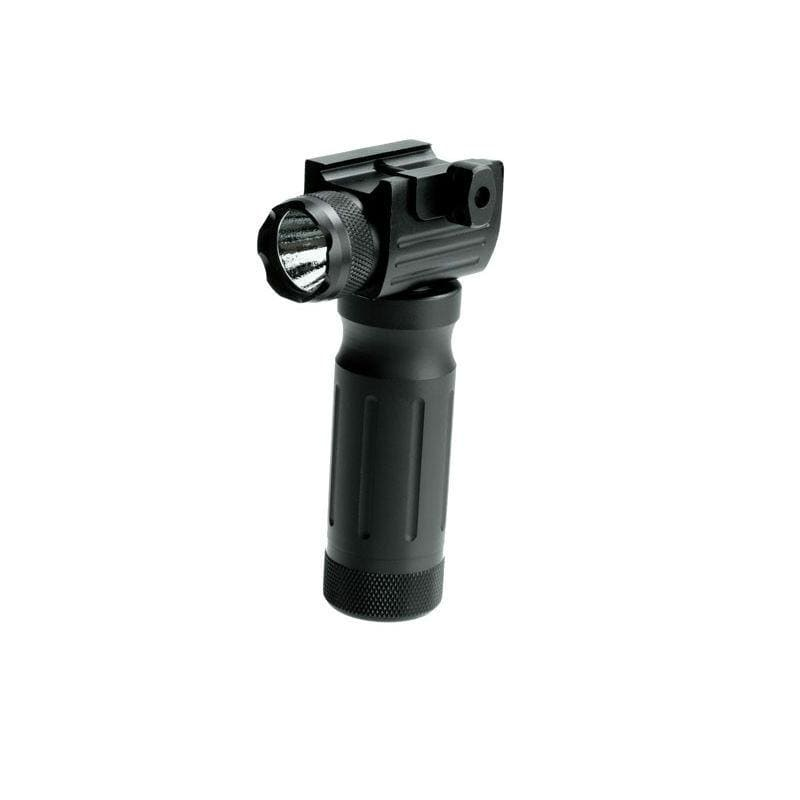 Sun Optics Tactical Fore End Weapon Grip with Flashlight & Red Laser