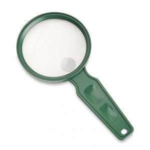 Carson MagniView 2x Outdoor Hand Magnifier with 4x Spot Lens