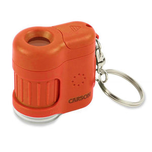 Carson MicroMini 20x Pocket Microscope - Orange