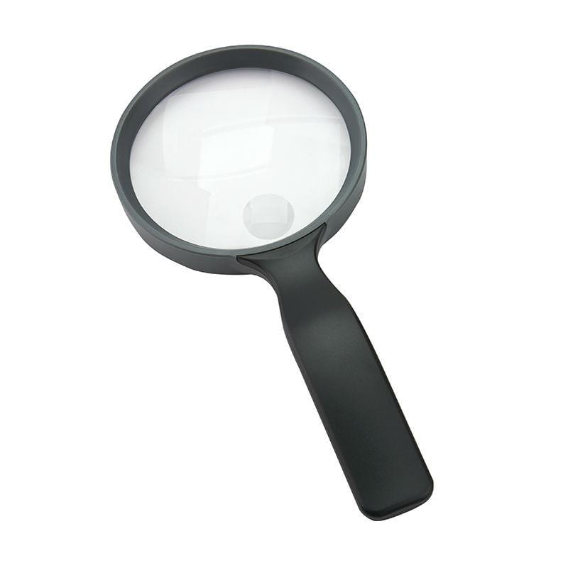 Carson HandHeld 2x Hand Magnifier with 3.5x Spot Lens