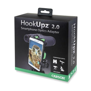 Carson HookUpz 2.0 Universal Optics Adapter for Smartphones box
