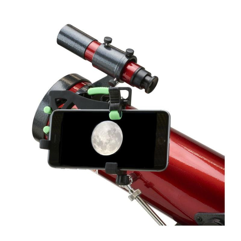 Carson HookUpz 2.0 Universal Optics Adapter for Smartphones - On telescope