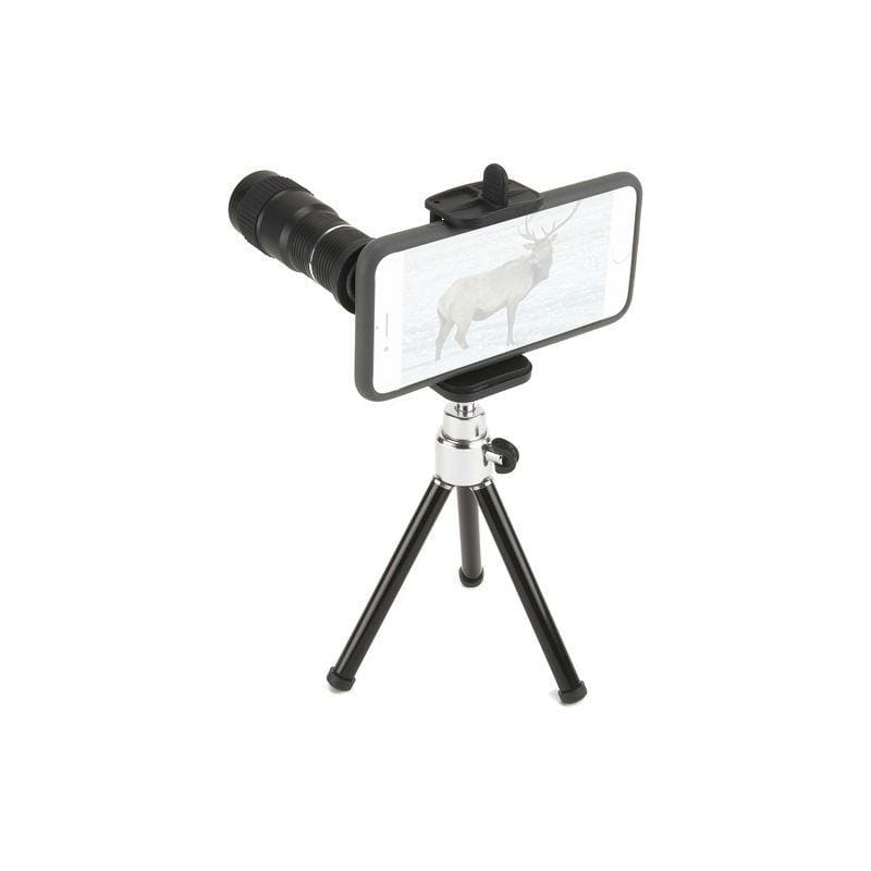 Carson HookUpz Smartphone 6x Telephoto Lens Adapter and Tripod