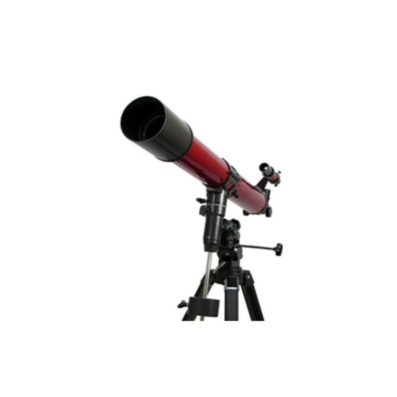 Carson RP-400 Red Planet Refractor Telescope close up