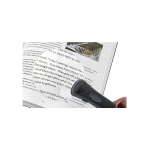 Carson RimFree 2x LED Lighted Magnifier in use