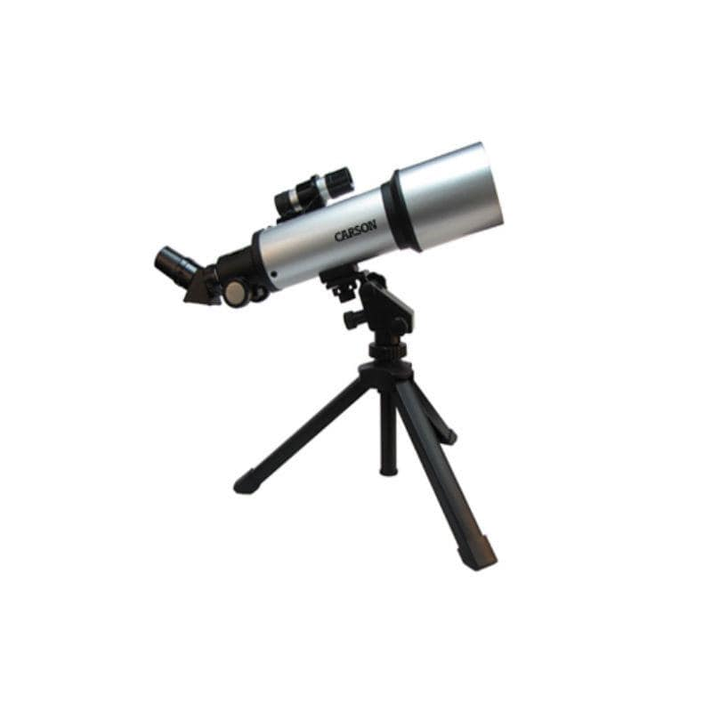 Carson SkyRunner 70mm Table Top Kids Refractor Telescope Kit
