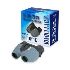 Carson Tracker 8x21 Binoculars with packaging