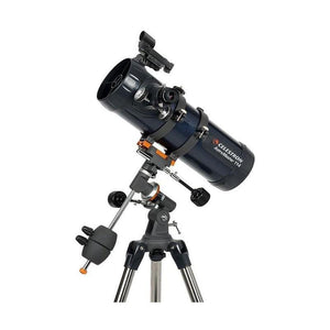 Celestron AstroMaster 114mm EQ MD Reflector Telescope with Motor Drive