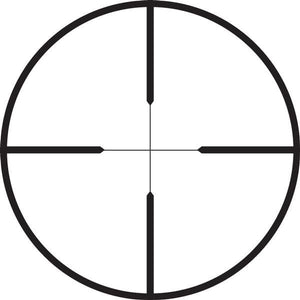 Riflescope reticle - duplex