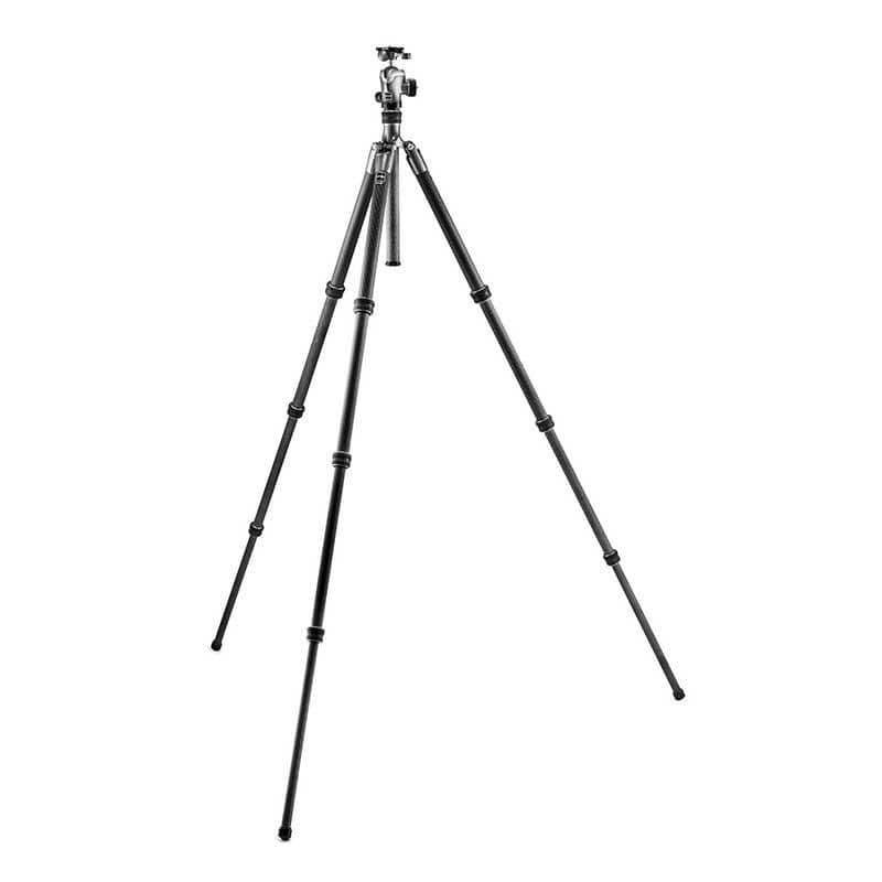 Gitzo Traveller Series 2 Carbon Fibre Tripod Kit with Ball Head - fully extended