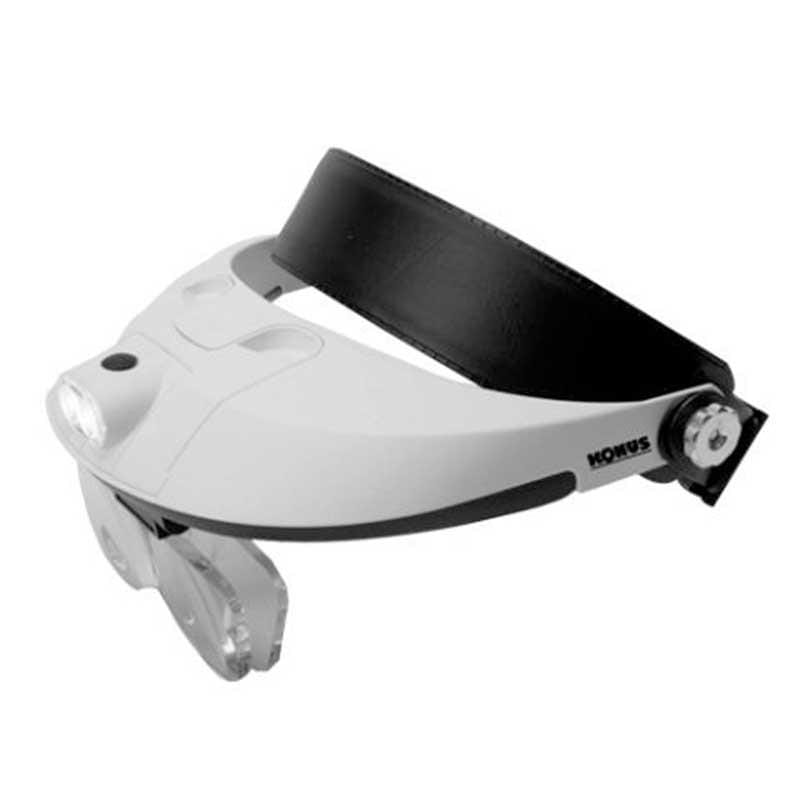 Konus Head Loupe Magnifier with 5 lenses