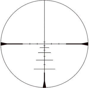 KonusPro 550 3-9x40 Rifle Scope reticle