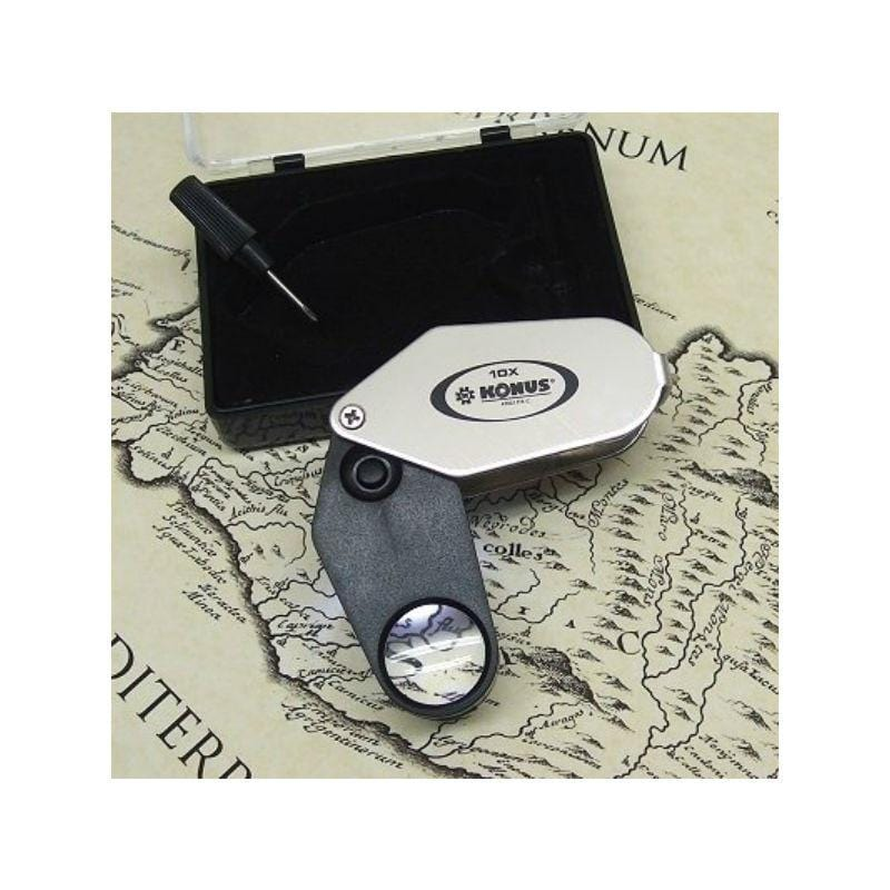 Konus LED 10x Folding Magnifier with case and screw driver