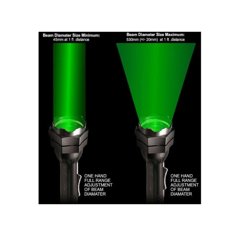 Laser Genetics ND.5 Long Distance Laser Illuminator beam examples