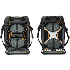 Lowepro DroneGuard BP 450 AW Drone Backpack - rear view