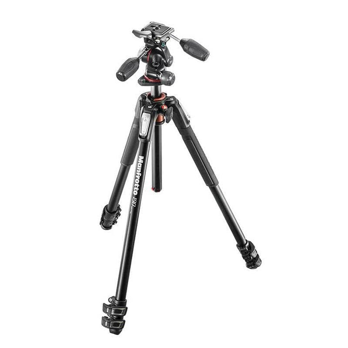 Manfrotto 190X PRO3 Aluminum with 3-Way Pan/Tilt Head Tripod