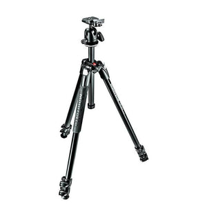 Manfrotto 290 Xtra Aluminium 3-Section Ball Head Tripod