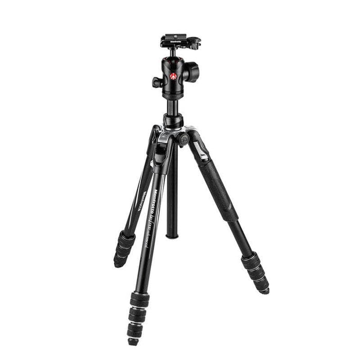 Manfrotto Befree Advanced Aluminium Travel Tripod with Ball Head (Black, Red, Blue)