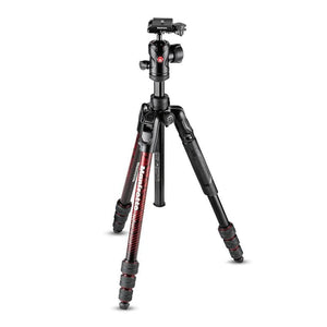 Manfrotto Befree Advanced Aluminium Travel Tripod with Ball Head - Red
