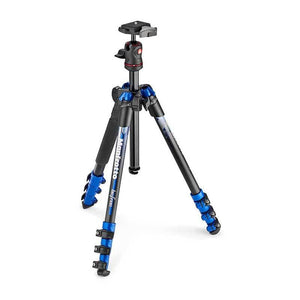 Manfrotto Befree Aluminium Blue Tripod with Ball Head