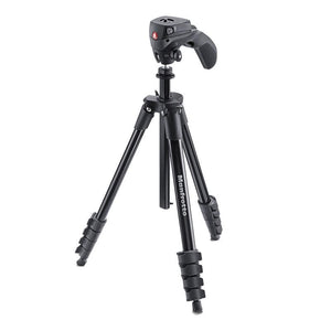 Manfrotto Compact Action Aluminium Tripod - Black