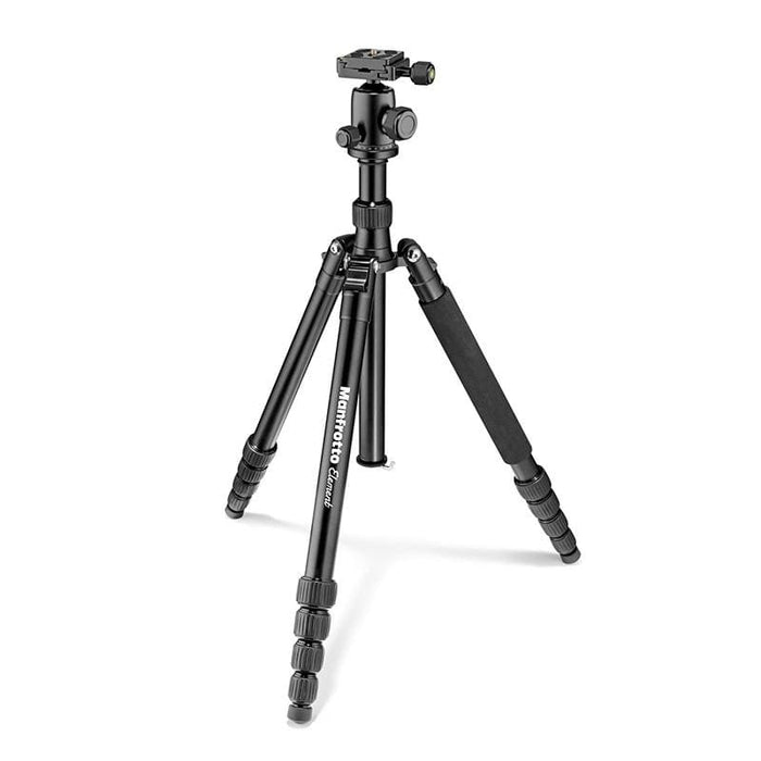 Manfrotto Element Traveller Big Aluminium Tripod with Ball Head (Black, Red, Blue, Grey)