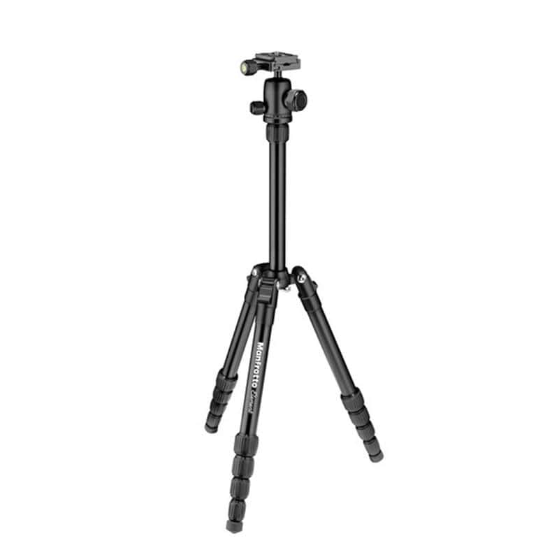 Manfrotto Element Traveller Small Aluminium Tripod with Ball Head (Black, Red, Blue, Grey)