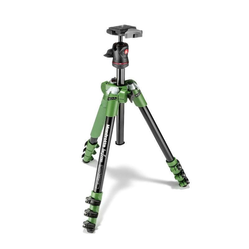 Manfrotto Befree Aluminium Green Tripod with Ball Head