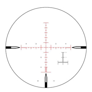 Nightforce Illuminated Mil-R 5 mils reticle
