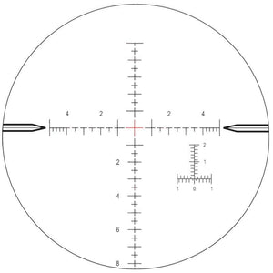Nightforce MIL-R™ Reticle for 4-14x50 FFP