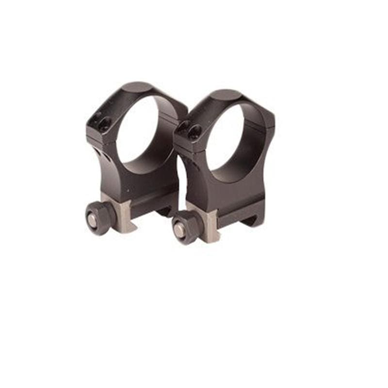 Nightforce Ultralite 34mm Picatinny Riflescope Rings - 4 screw