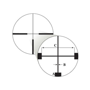 Nikon German #4 Reticle subtensions